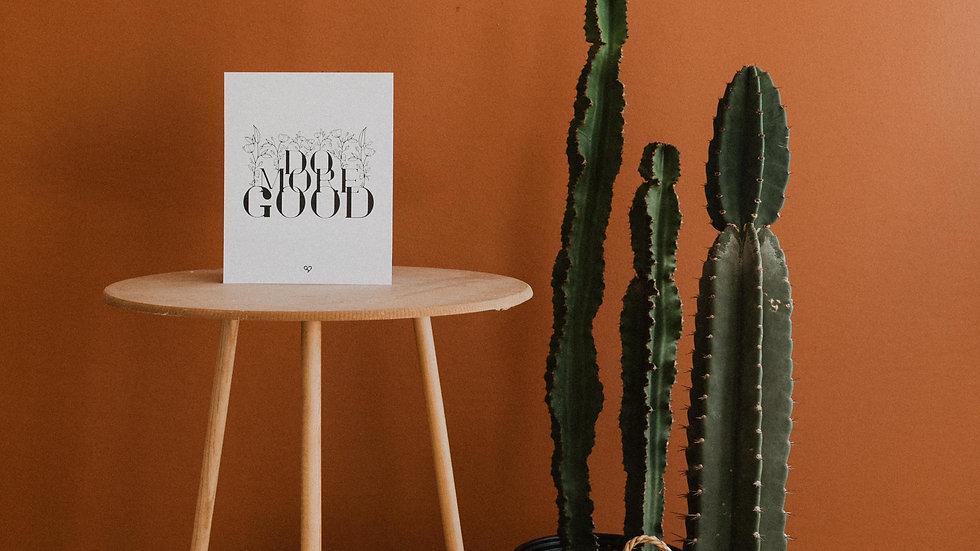 Do More Good Print