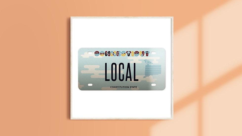Connecticut License Plate