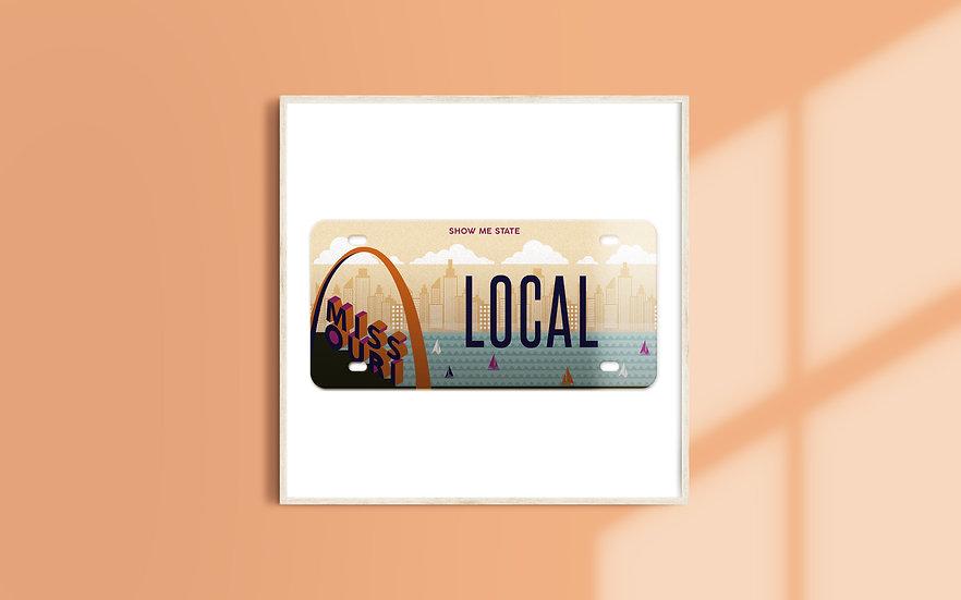 Missouri License Plate