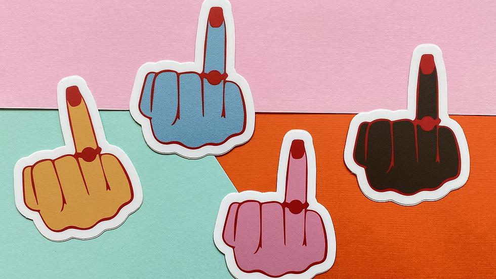 Ring Finger Sticker