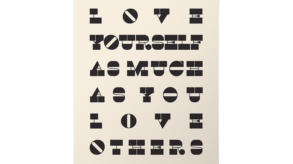 Love Yourself Print