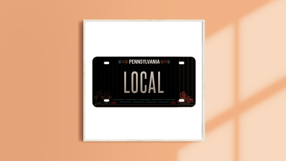 Pennsylvania License Plate