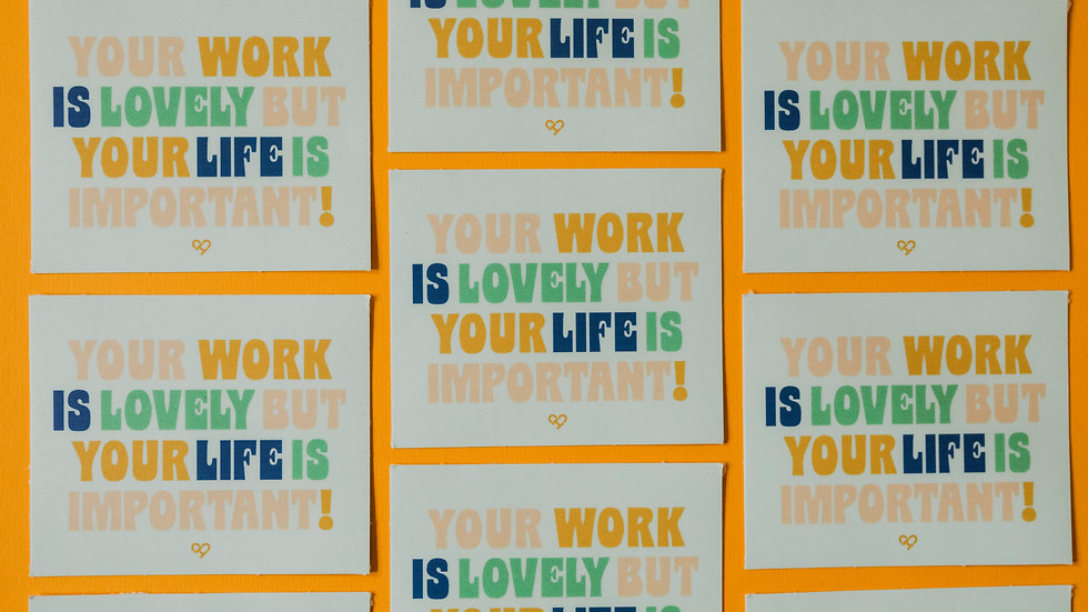 Your Life Is Important