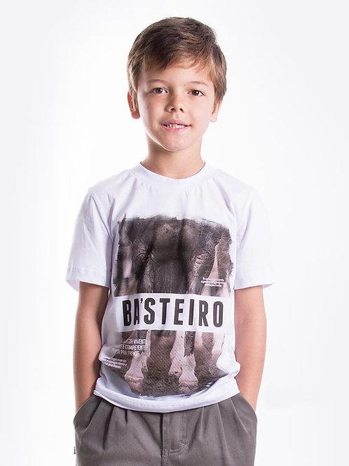 Frente Camiseta Masculina Infantil - Força Gaúcha