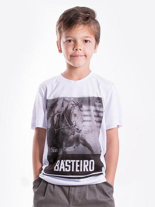 Frente Camiseta Masculina Infantil - Mostremos valor Constância