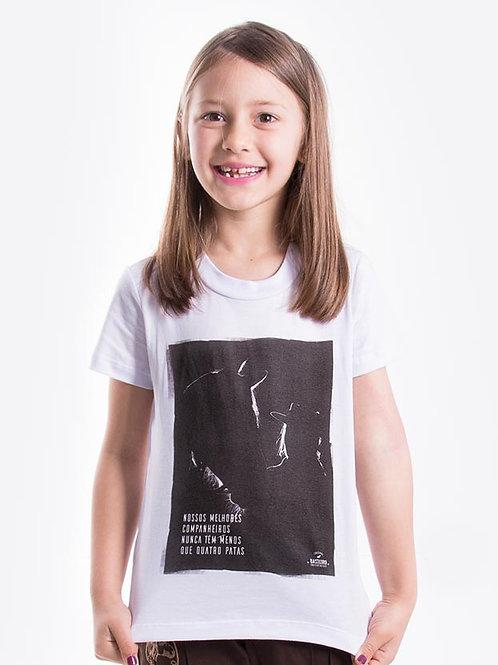 Frente Blusa Feminina Infantil - Especial de Primeira