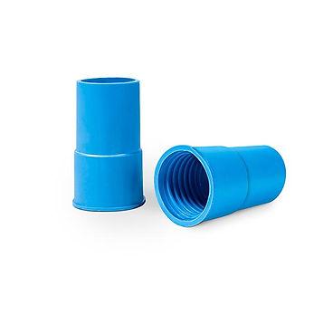 """Ponteira Azul Rosca Esquerda 1.1/2"""""""