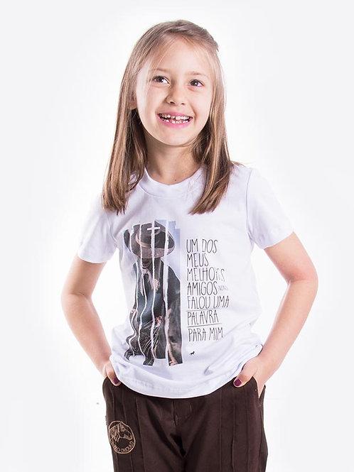 Frente Blusa Feminina Infantil - Alma enforquilhada