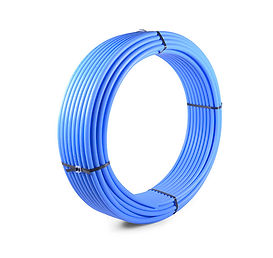 Tubo PE80 - Azul - Mangueplast, RS