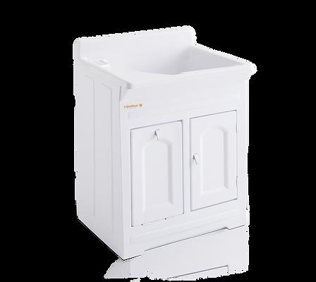 Tanque para lavar roupas em ABS com esfragador Fibra Stilofibras