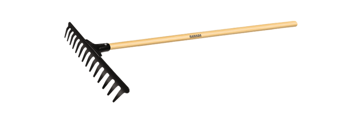 Ancinho Curvo Robusto - Ramada Ferramentas