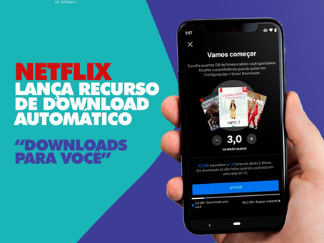 Netflix lança recurso de download