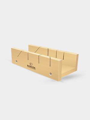 Caixa Meia Esquadria Marfim