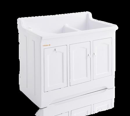 Tanque para lavar roupas em Fibra com esfregador em Fibra Stilofibras