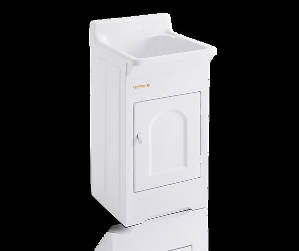 Tanque para lavar roupas em ABS com esfregador em fibra Stilofibras
