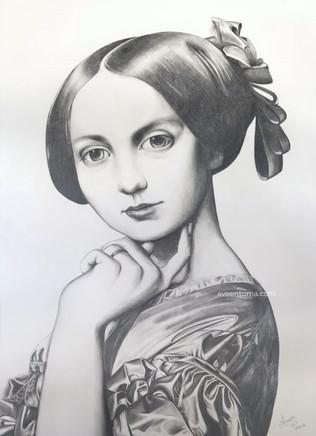 Portrait of Comtesse d'Haussonville