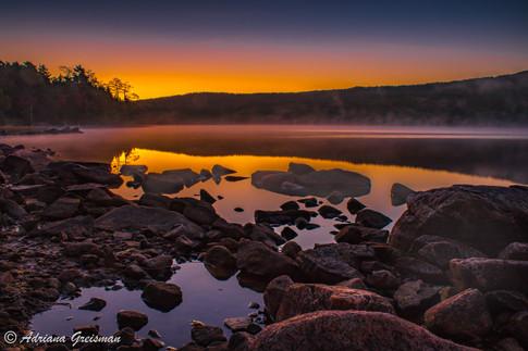 Acadia-National-Park-Eagle-Lake-Sunrise-