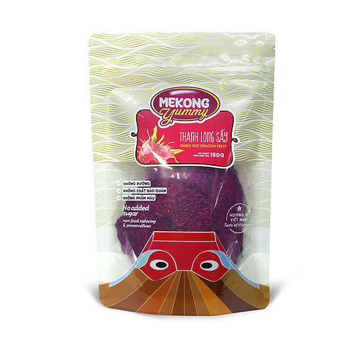 Dried red dragon fruit 150g