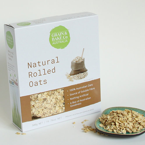Natural rolled oats