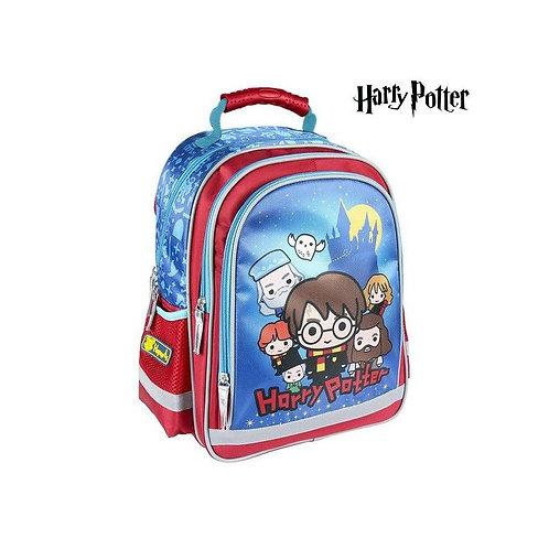 School Bag Harry Potter Blue