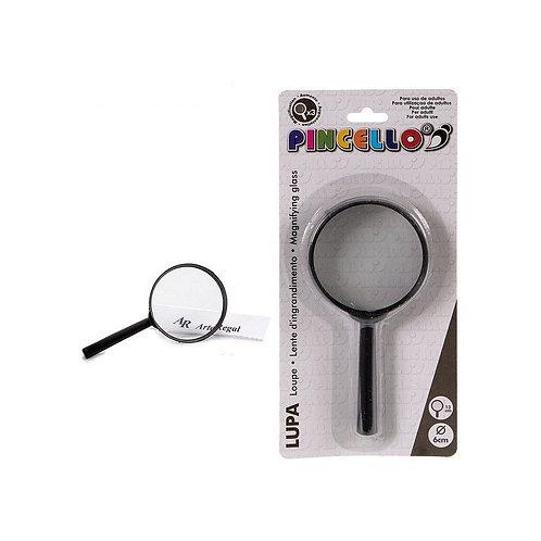 Magnifying glass Pincello Black Glass (1,5 x 12,5 x 6 cm)