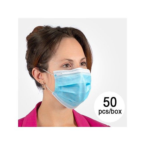 3-Layer Disposable Mask NS (Pack of 50)
