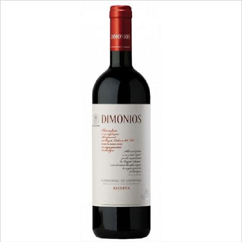 CANNONAU WINE RESERVE DIMONIOS DOC 75 CL