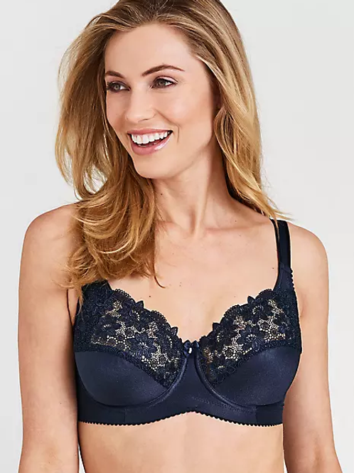 Miss Mary of Sweden Lacy Underwired Bra