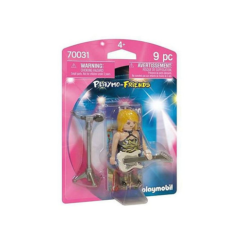 Action figure Friends Playmobil 70031 (9 pezzi)