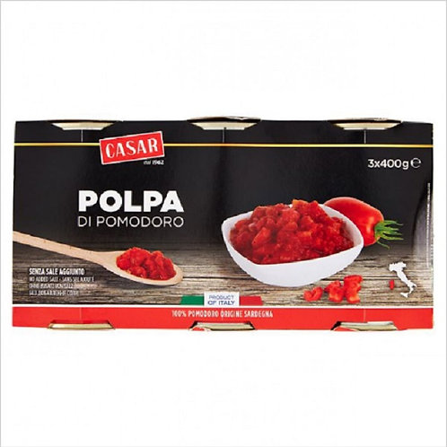 TOMATOES PULP 400 GR X 3
