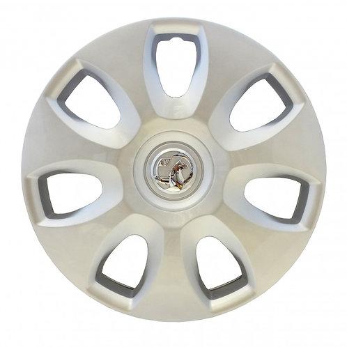 """Corsa D 15"""" Steel Wheel Trim 7 Spoke"""