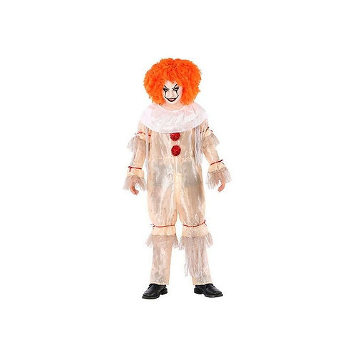 Costume for Children Evil male clown (Size 7-9 years)