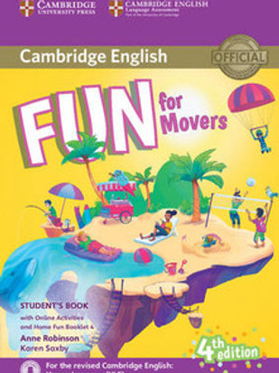 Fun for Movers Student's Book with Online Activities with Audio and Home Fun
