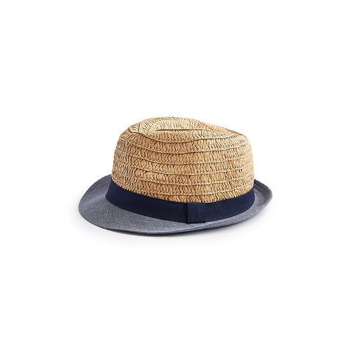 Cappello Trilby Baby Straw Sand Straw