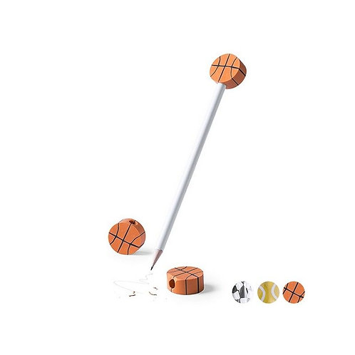 Pencil with Eraser Sports 145218