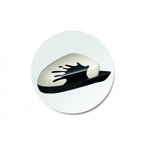 ADAM Splat Design Outside Mirror Caps