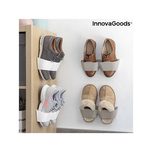 Supporti per scarpe adesive Shöelf InnovaGoods (4 coppie)