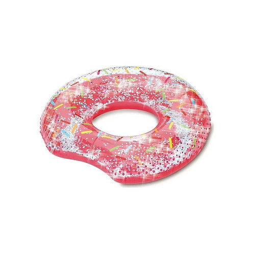 Inflatable Pool Float Glitter Red (103 X 96 x 29 cm)