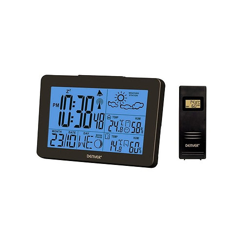 Multi-function Weather Station Denver Electronics WS-530 Black