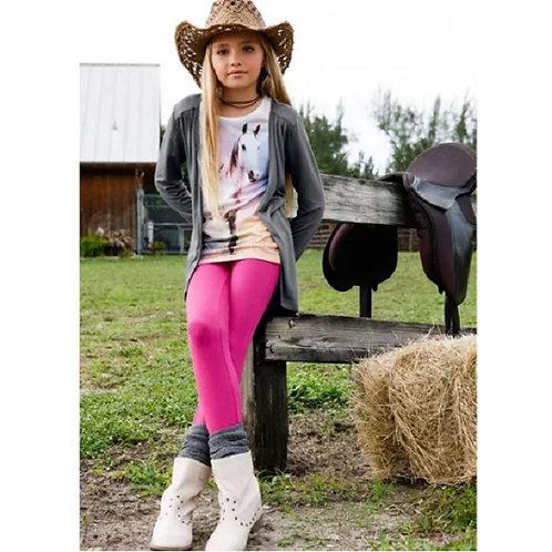 Horse T-Shirt & Cardigan & Leggings
