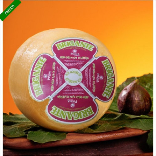 CHEESE WITHOUT LACTOSE BRIGANTE MAX WEIGHT 1,5 KG