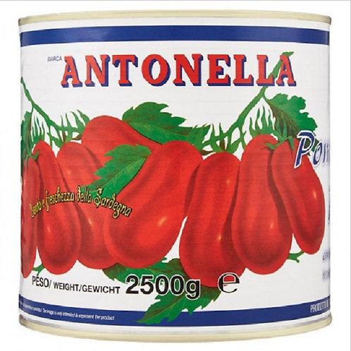 WHOLE PEELED TOMATOES 800 GR