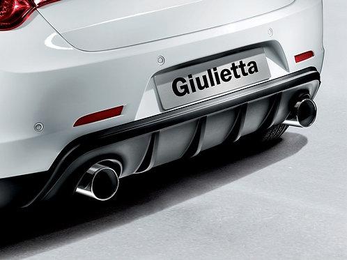 Alfa Romeo Giulietta Twin Oversize Exhaust Tailpipe Kit