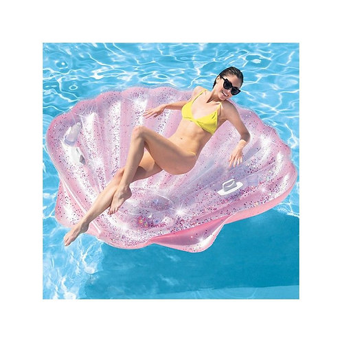 Inflatable Pearl Glitter Intex (191 x 175 cm)