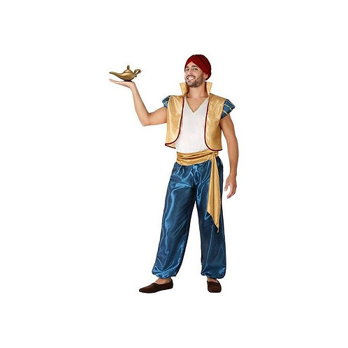 Costume for Adults Arab Blue Golden