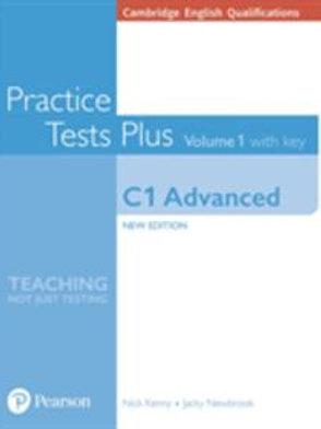 Qualifiche Cambridge English: C1 Advanced Volume 1 Practice Test Plus