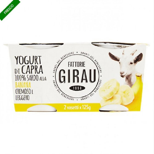 GOAT MILK YOGURT TASTE BANANA, 125 GR X 2