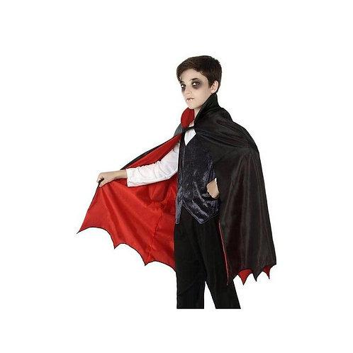 Mantello 117963 Vampire Bambini Nero (66 Cm)