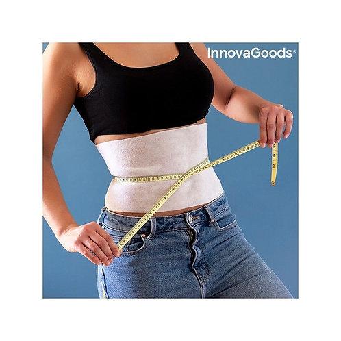 Cinturino dimagrante addominale con estratti naturali Slybell InnovaGoods (confezione da 4)