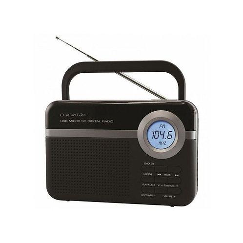 Transistor Radio BRIGMTON BT 251 N Black